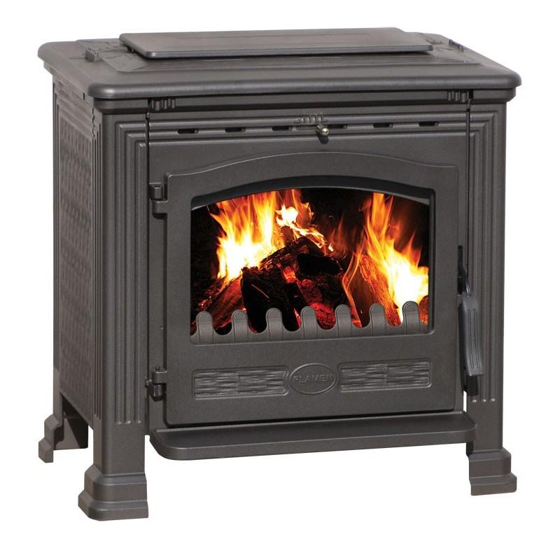kamin na drva plamen tena 8 11 kw. Black Bedroom Furniture Sets. Home Design Ideas