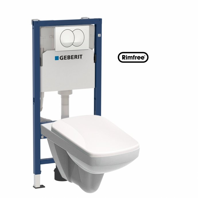 Geberit delta 20 kolo nova pro wc set for Geberit technical support